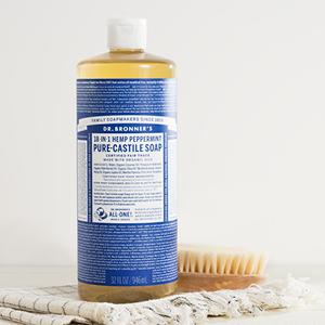 Peppermint liquid soap