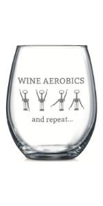 Aerobics Glass