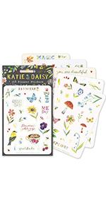 Katie Daisy stickers Daydream Pack