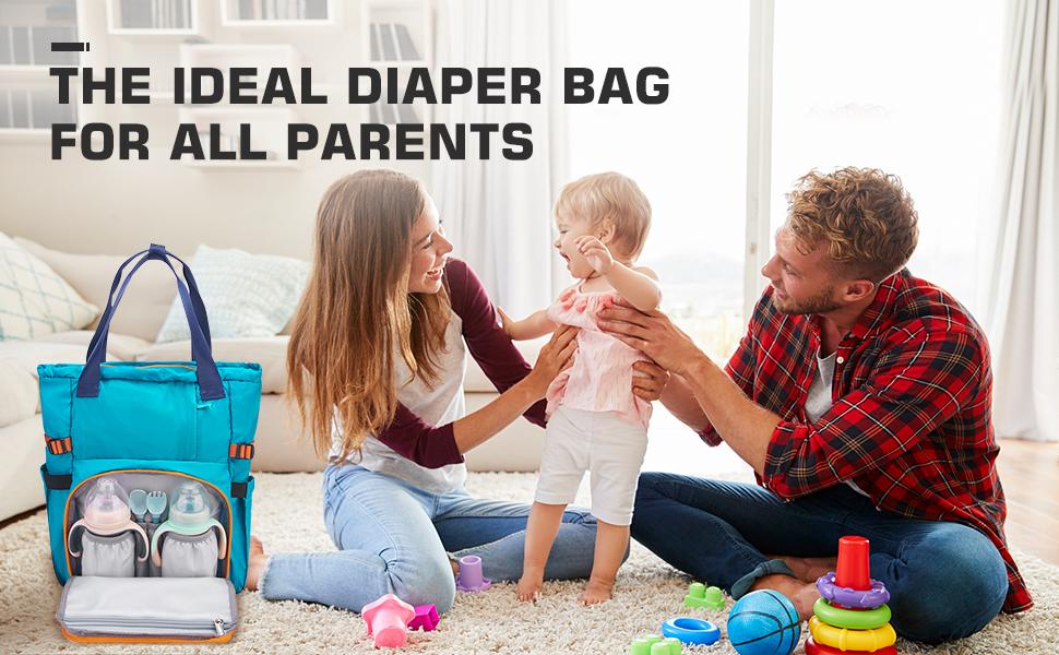 IDEAL DIAPER BAG FOR ALL PARENT