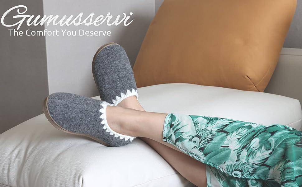 warm cozy slippers