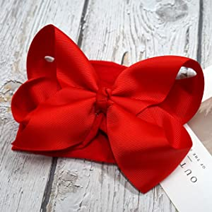 red bow for Christmas Day