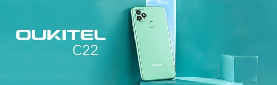 OUKITEL C22 Smartphone ohne Vertrag (2021 Neu)