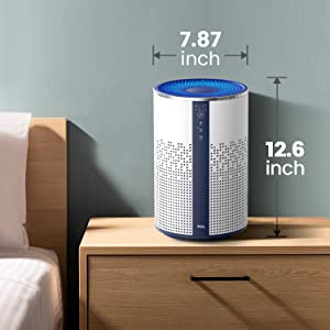 air purifier compact size