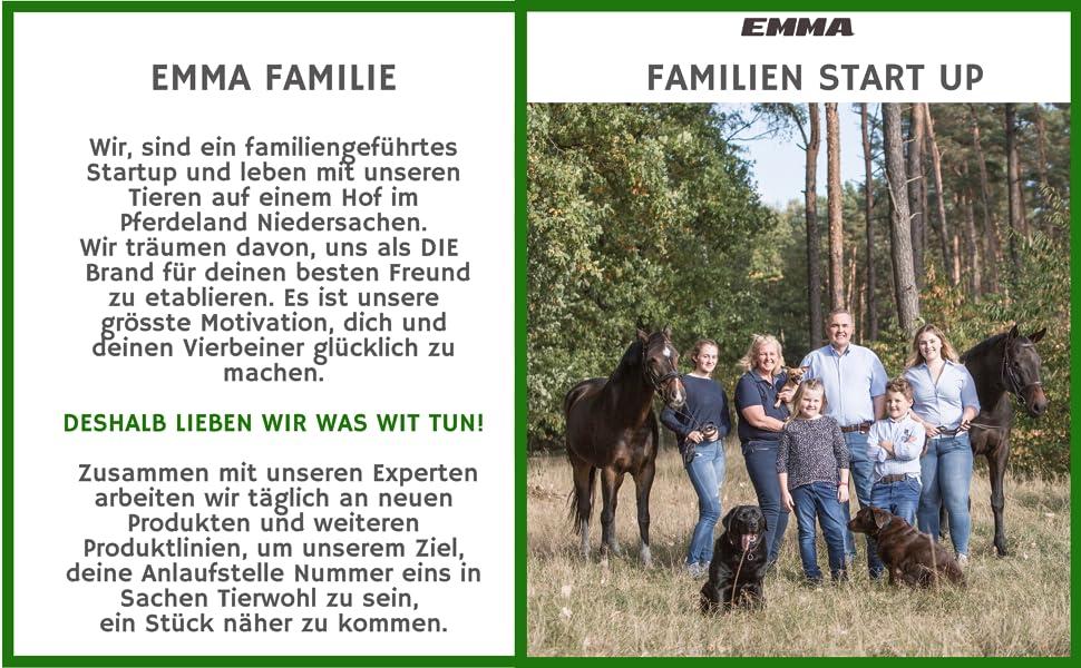 EMMA Familie - Wir lieben Tiere!