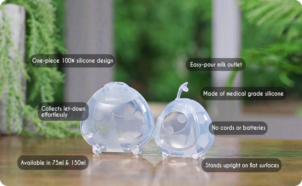 Haakaa Breast Shells Nursing Cup Silicone Breast Milk Collector Milk Savers for Breastfeeding
