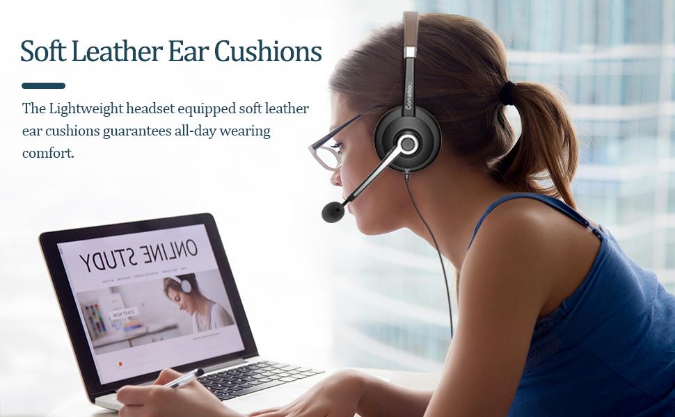 usb headset mit mikrofon