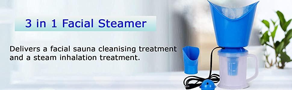 3 in 1 facial steamer