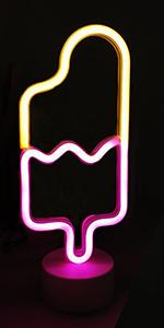 LED-Wanddekoration