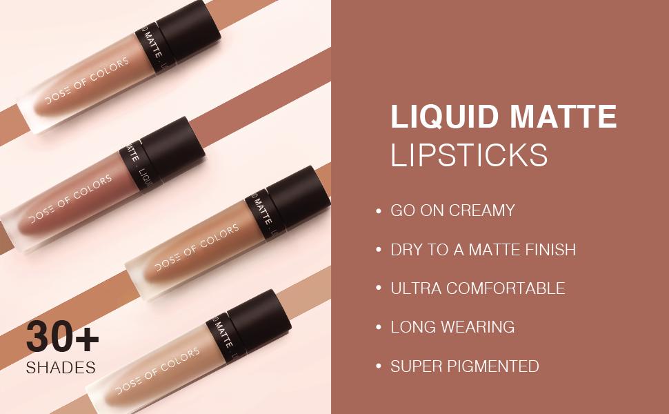 Liquid Matte Lipsticks 30+