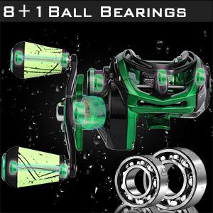 8+1 ball bearings
