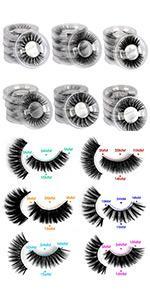 20 mml lashes short lashes 15mm lashes 18mm lashes pack natural look lashes natural