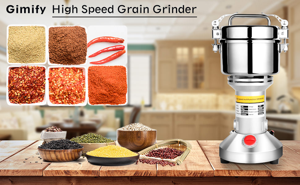 Electric Grain Grinder Mill