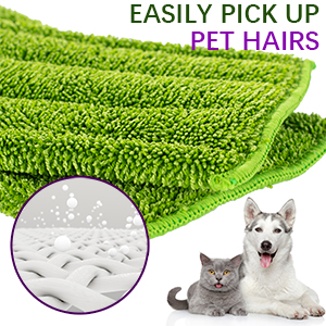 mop pads washable