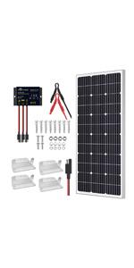 100W solar kit