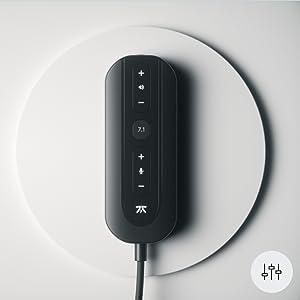 volume control media control 7.1 surround sound cable sound control precise