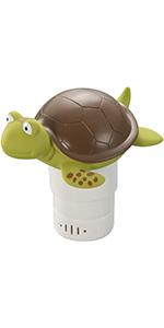 Turtle Pool Floating Chlorine Dispenser