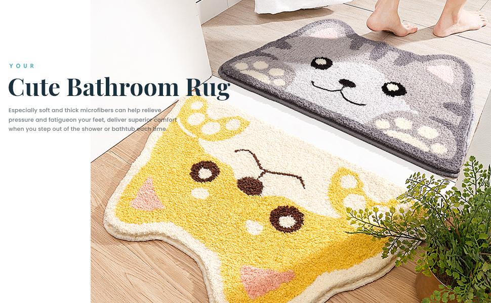 Your Cute Animal Bathroom Rug