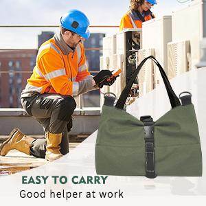 roll up tool bag organizer