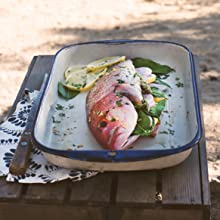 snapper, fish, outdoor cooking, camping, camp food, campfire, seafood