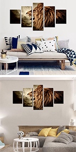 lion roar roaring head lion roar leader king angry african animal big carnivore cat clouds