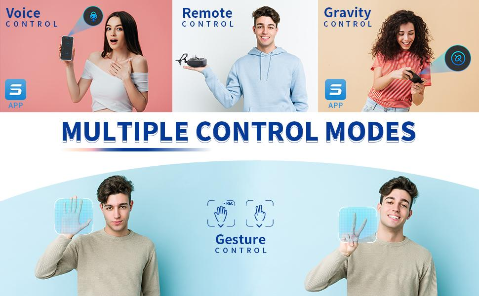 Multiple Control Modes