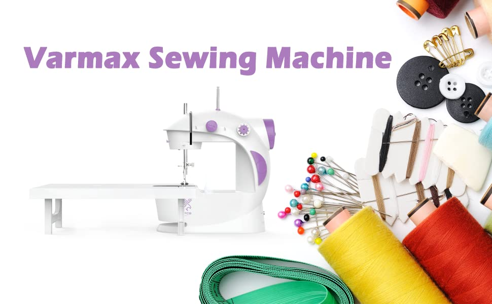 Varmax Sewing Machine embroidery sewing machine portable, best sewing machine for beginners