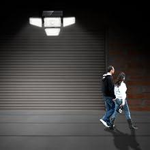led security motion sensor outdoor lights