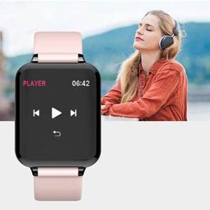 B57 smart watchs for android phone music remote control