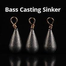 Bass Casting Sinker