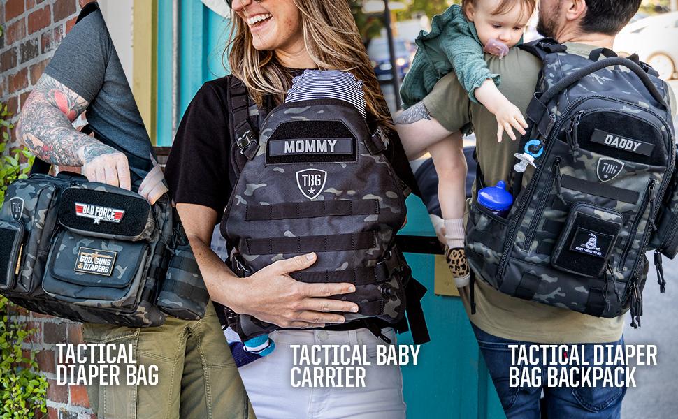 Tactical Diaper Bag, Tactical Baby Carrier, Tactical Diaper Bag Backpack