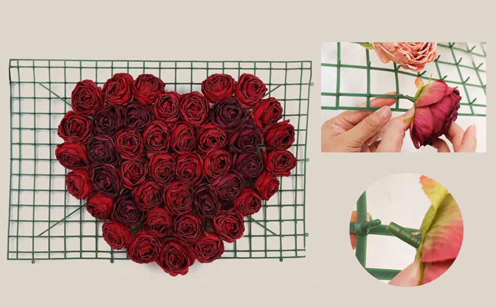 DIY flower craft decor
