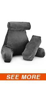 reading pillow with Shredded Memory Foam