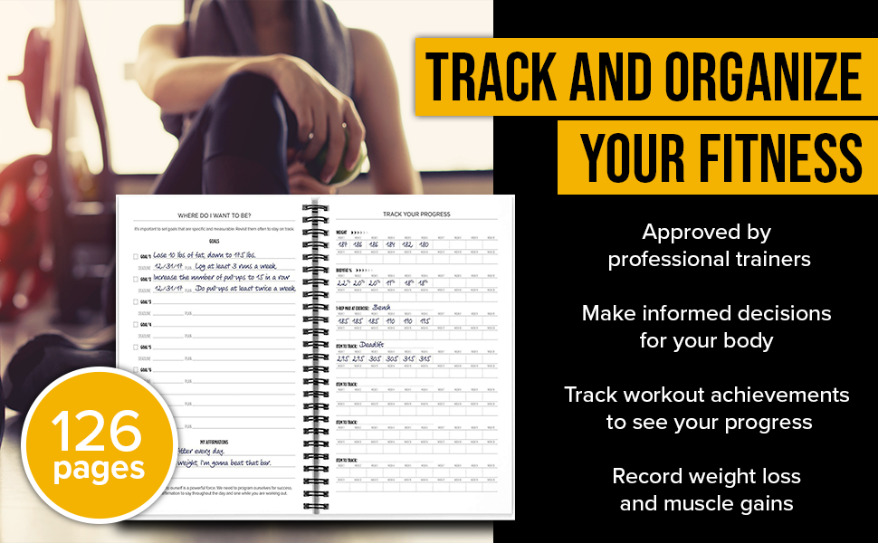 Track and organize your fitness