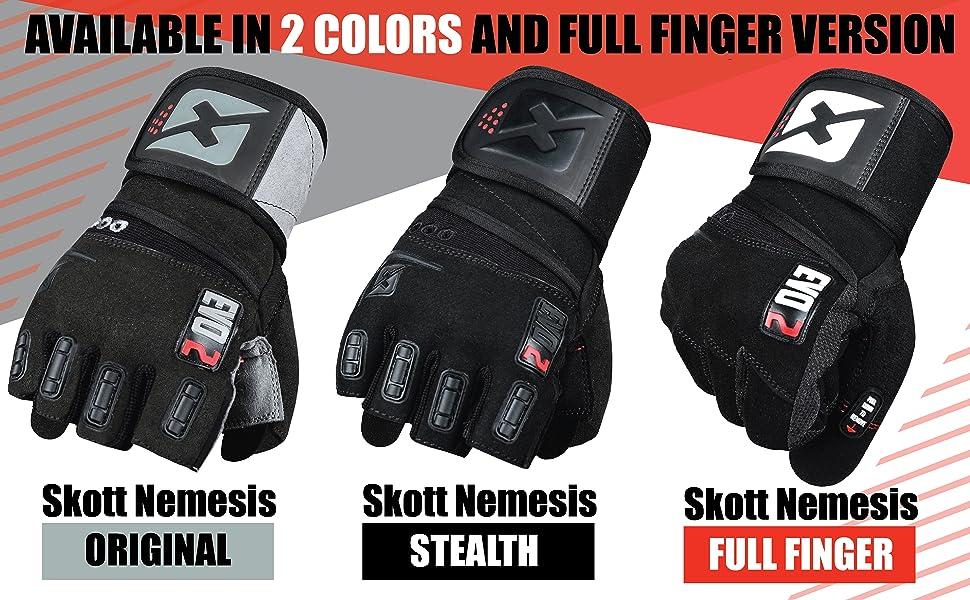 skott gloves gym line up