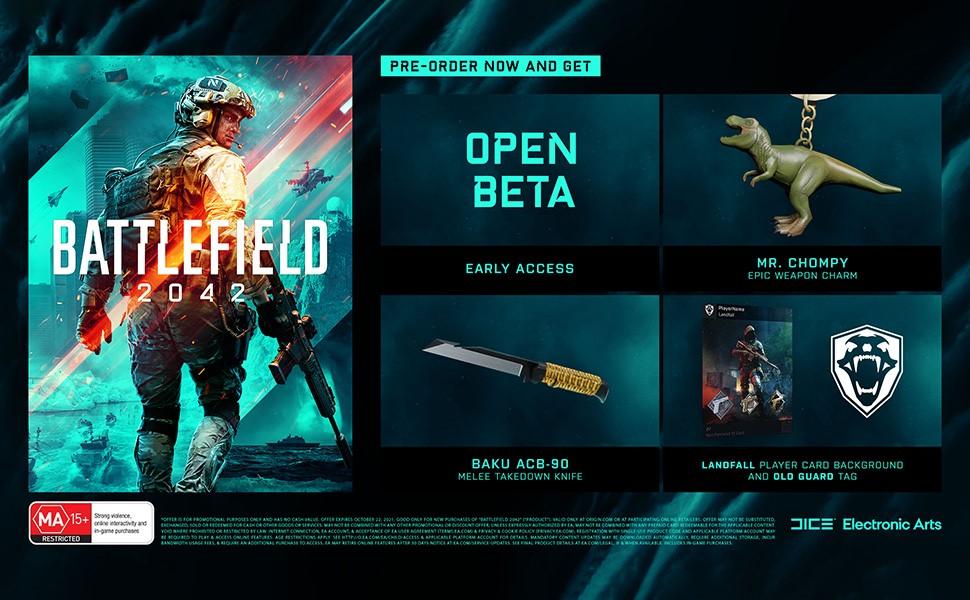 Battlefield 2042 Pre-Order Beauty Shot