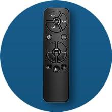 Back-lit Wireless Remote