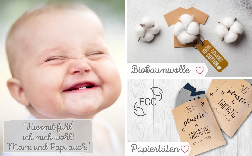 Biobaumwolle Babykleidung Organische Baumwolle Organic umweltbewusst vegan