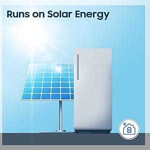 Runs on Solar Energy