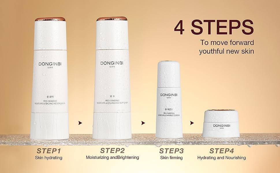 4 steps to achieve youthful new skin