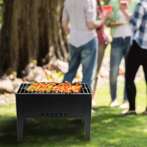 Foldable bbq grill set camping