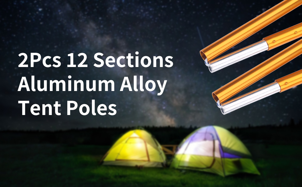 Aluminum Rod Tent Poles