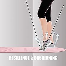 RESILIENCE & CUSHIONING