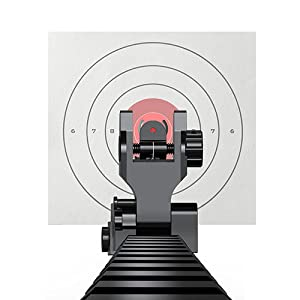 Flip Up Sight for Shooting and Hunting