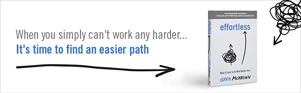 When you simply can't work any harder...it's time to find an easier path.
