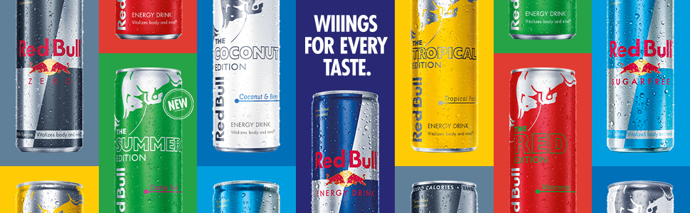 2021 Red Bull Editions