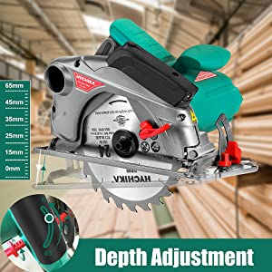 Circular Saw with Laser Guide