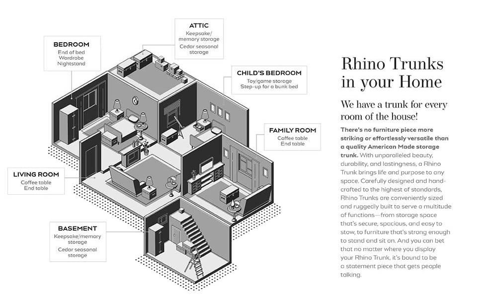 rhino trunks amp;amp; case