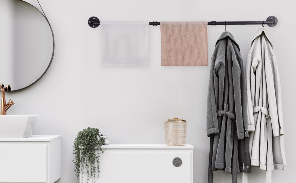 Pipe Towel Bar