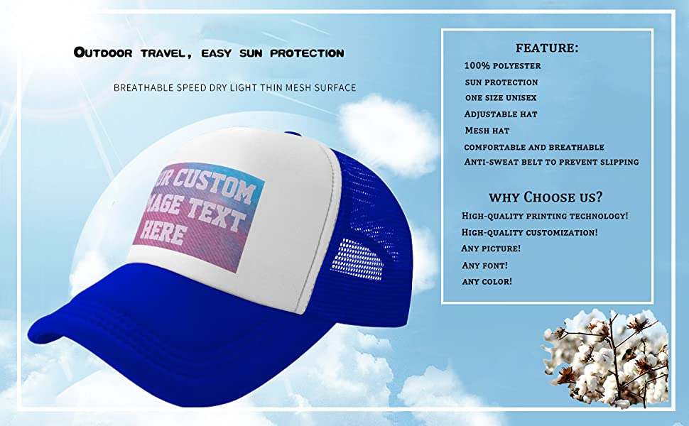 Snapback Cap Custom Personalized